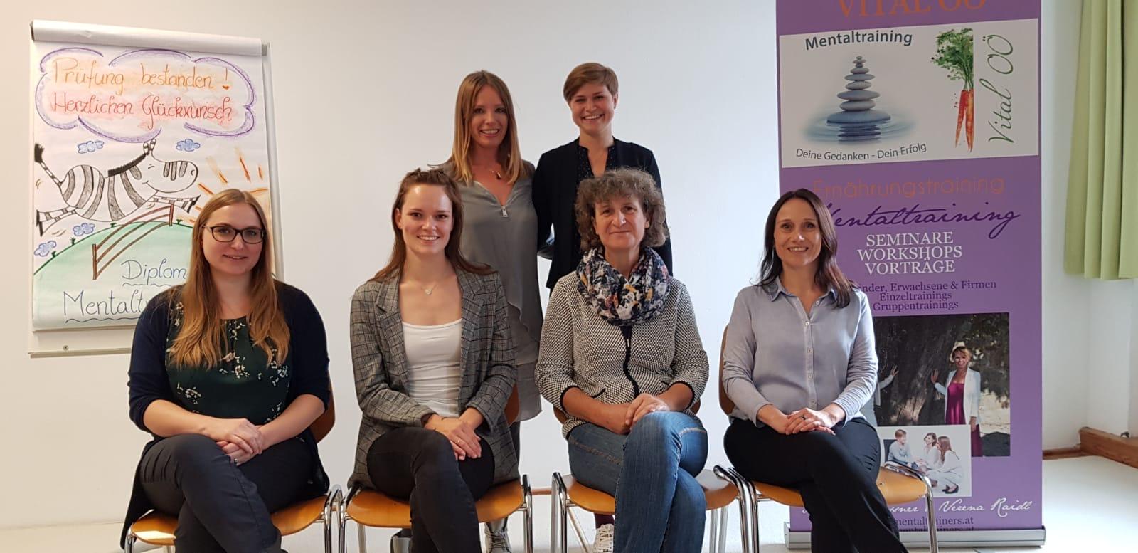 Vier neue Mentaltrainerinnen ausgebildet